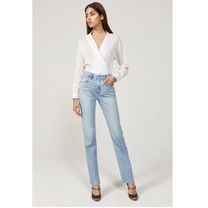 3x1 DIY Straight Jeans in Willow Blue Size 31